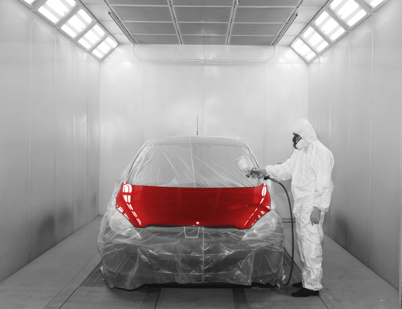Amtek company 21st century teaching with technology for Spray paint on car
