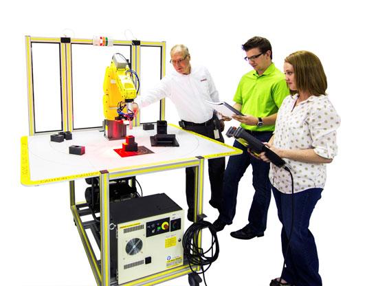 FANUC Industrial Robotics for Education   Amtek Company, Inc