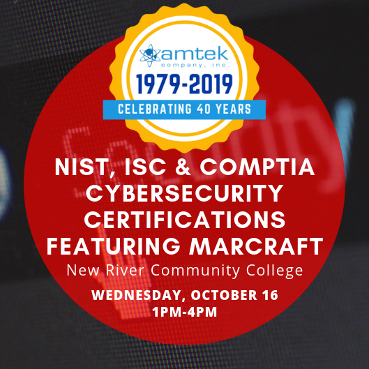 NIST, ISC & CompTIA Cybersecurity Certifications Featuring